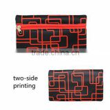 NEW ARRIVALS ! magnetic cool neoprene pencil case with two-side printing, custom printing