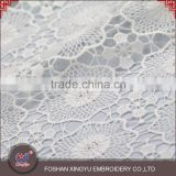Factory price high quality water soluble printing mesh embroidery fabrics for bridal dress