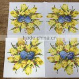 Happy Birthday Party Products Colorful Virgin Pulp Printing Serviettes Paper Napkin