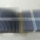 Customized 6063 t5 clear anodized extruded aluminum heat sink for led (aluminum heat sink plate, aluminum heat sink bar)