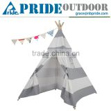 Indoor Indian Playhouse Kids Tent Play Hhouse Play Cotton Canvas Waterproof Balcony Tent