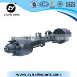 Trailer parts German type axle of guaranteed quality