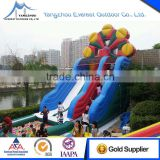 Cheap Commercial Inflatable slides bounce house