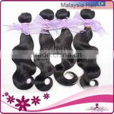 wendy product 2014 natural color big stock quality body wave china supply 5a 100% remy malaysian hair