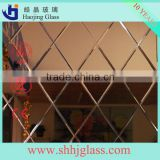 2mm 3mm 4mm 6mm bronze mirror glass colorful beveled glass mirror
