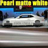 1.52*20m Popular pearl white stickers for diy\car wrap film with pearl ivory white