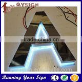 usage back light halo light letter sign
