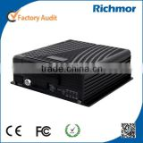 Mobile Phone Remote Viewable 8 channel mobile car dvr recorder with Wi-Fi, 3G and GPS, harddrive