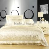 Home Textile Hot Sale 22MM Dyed Jacquard Silk Bedding Set/Sets                                                                         Quality Choice