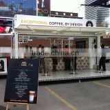 Hydraulic system 20ft shipping container cafe design/ Pop-Up mobile cafe container for sale                                                                         Quality Choice