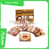 hot sell funny cotton face coaster with customer design, DL856
