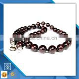 yiwu CC Jewelry CCK0020 2016 factory price hot sale wholesale garnet natural stone beaded necklace