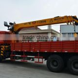 manufacturer hot sale 12ton hydraulic loader truck mounted crane telescopic cranes