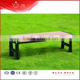 2015 new outdoor street wooden upholstered bench