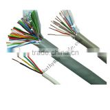 copper conductor pe insulation pvc jacket twisted and untwisted pair indoor telephone cable