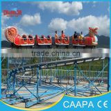 2015 China kiddie rides backyard mini cheap roller coaster for sale
