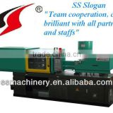Fixed pump injection moulding machines