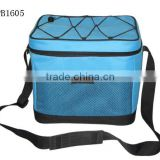 high quality 600D ice cream cooler bag/ promotion lunch cooler bag with durable hard liner