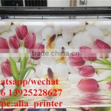 large format inkjet PVC label printer roll to roll PVC Skid pad roll printer with 1024i head