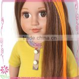 Long doll wigs suit american dolls, 18 inch american girl doll fiber wigs