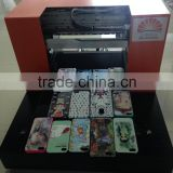 Multifunction A4 Size 6 Color Flatbed Printer Non Coating Phone Case Printer Card Printer