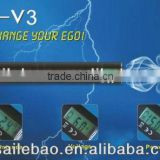 SLB ego v v3 mega,1300mah 3-6v LCD variable voltage and variable watt battery with passthrough charging