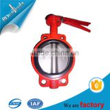 Wholesales safety test bench small 1/4'' 1/2'' butterfly valve made in China