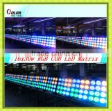 rgb led pixel matrix 4x4x30w cob led decorative matrix blinder for stage background
