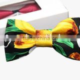 Customized Promotional Brand Printed Large Bow Ties                                                                         Quality Choice