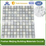 good quality base white wood grain powder coating for glass mosaic