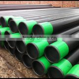 API 5L GrB/ASTM A106 GrB/ASTM A53 GrB carbon steel seamless pipe black painted steel tube