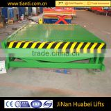 2016 New product convenient mobile container hydraulic steel truck ramp low price