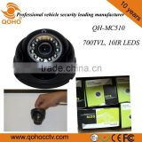 IR Car / Vehicle Dome Camera With Metal Housing Sercuity Camera Inside Car
