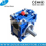 NRV030 type with output shaft Worm drive gearbox