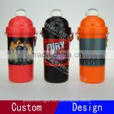 New Products Child Water Bottle, School Water Bottle With Straw for Kids, Sports Plastic Bottle