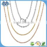 2016 New Products Stainless Steel 18Ct Gold Chain