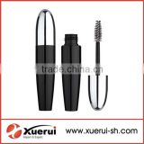 black empty plastic mascara tube, cosmetic mascara container