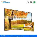 "5.3mm Ultra Narrow Bezel 46"" Samsung exhibition lcd video wall with and 500nits LED backlight"