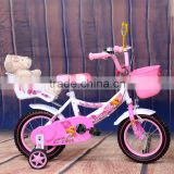2016 new arrival pink children bicycle kids bike TZ-B7051 with baby seat