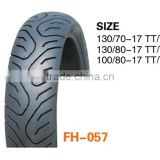 good quality and reasonable price motorcycle tubeless tyre for brand chinese famous tires