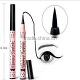 YANQINA Black Eyeliner Pencil Makeup Long Lasting Not Blooming Waterproof Liquid Eyeliner Pencil