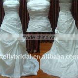 For 2012 simple import satin strapess Simple bridal gowns