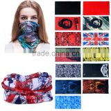 100% Polyester Microfiber Multifunctional Seamless Bandanas Magic Scarf Tubular Turban Headwear