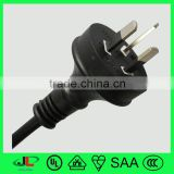 Wholesale SAA 3 pin electric plug good quality Australia 10A power plug with power cable