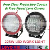 "10inch 225W led driving light 2015 New arrival 10"" led working light, used for suv atv round led work driving lights"