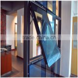 aluminum unitized glass curtain wall and aluminium curtain wall for commercial building