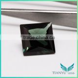 Wuzhou Gems Gemstones Processing Loose Synthetic Fashion Green Nano Spinel