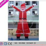 SGS attractive promotional inflatable happy christmas costumes for decoration