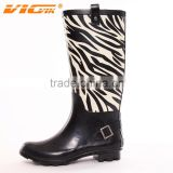 New fashion wellies rain boots ,wellies with high heel ,custom wellies ladies rain shoes