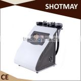 STM-8036C 650nm laser 1000W RF+ BIO + 2*40 K cavitation + vacuum + IR + BIO velashape body shape beauty machine with low price